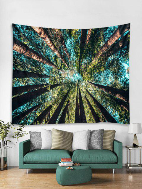 d63fe9d277 Forest Sky Print Tapestry Wall Hanging Art Decor - multicolor W59 X L59 INCH
