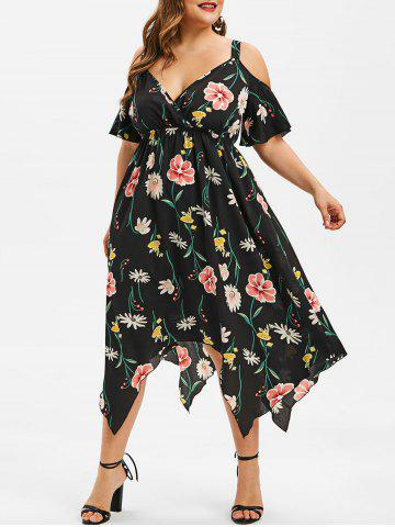 24d3357aab2 2019 Plus Size Handkerchief Dresses Best Online For Sale