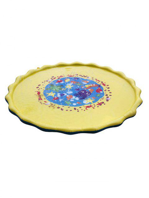 Outdoor Inflatable Boat Seat Pad Cushion - multicolor 170CM