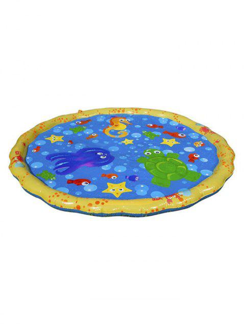 Outdoor Inflatable Boat Seat Pad Cushion - multicolor 100CM