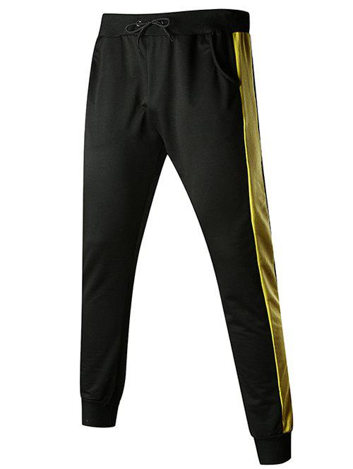 Contact Color Drawstring Jogger Pants - multicolor D 2XL