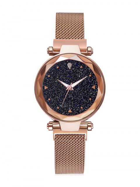 Starry Sky Noble Magnetic Buckle Quartz Watch - GOLD