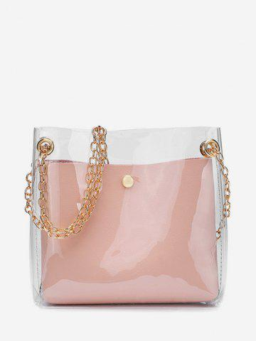 dresslily Transparent Simple Style Jelly Shoulder Bag