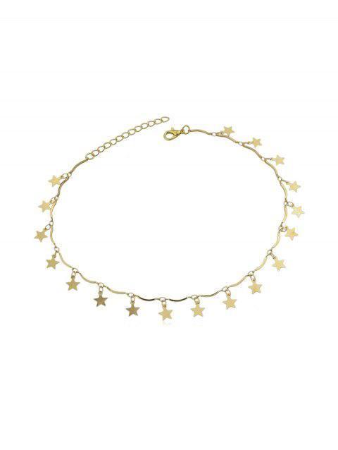 Star Brief Charm Necklace - GOLD