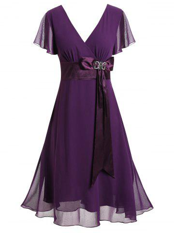 1a17f83056a 2019 Plus Size Purple Dress Best Online For Sale