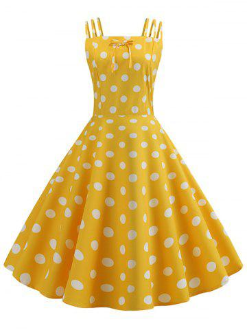 aaa87060f999 2019 Yellow Vintage Dress Online Store. Best Yellow Vintage Dress ...