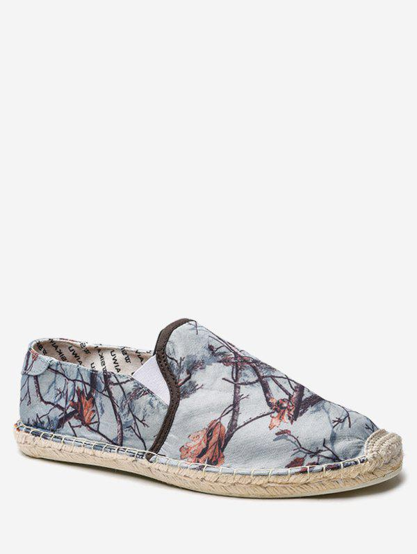 Chinese Style Canvas Espadrille Shoes