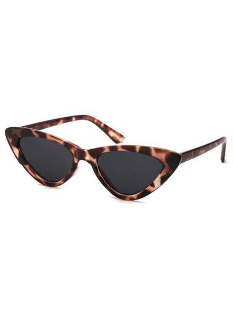 Triangle Stylish Punk Vintage Sunglasses - LEOPARD