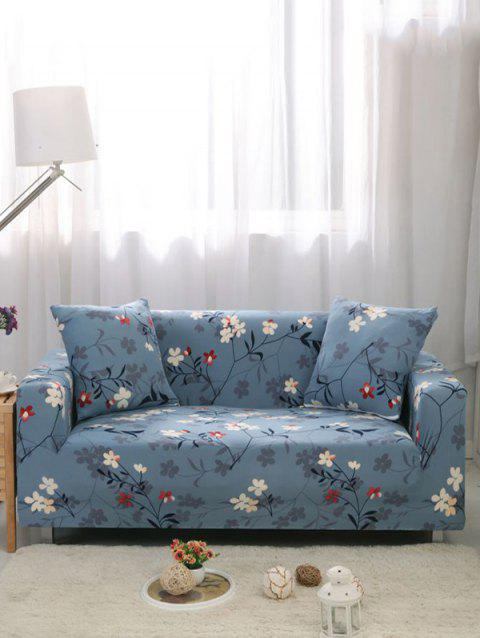 Flower Print Stretch Couch Cover