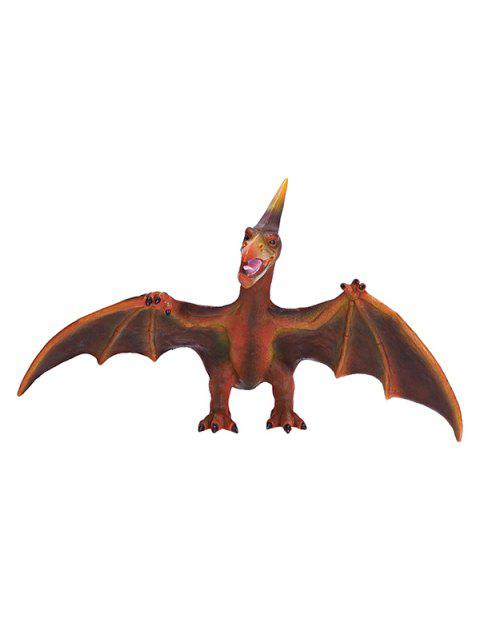 Simulation Pteranodon Dinosaur Model Safety Toy - DEEP BROWN