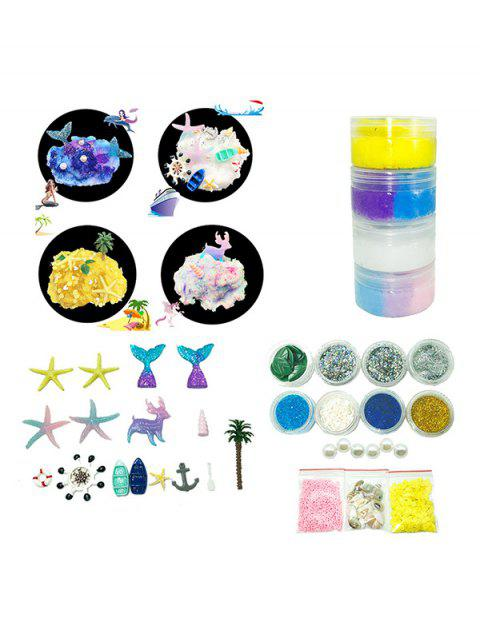 Underwater Animals Theme DIY Slime Kit - multicolor A