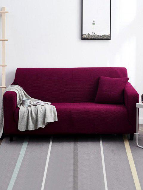 Vintage Couch Cover - VIOLA PURPLE TWO SEATS