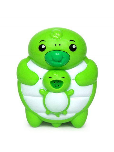 Cartoon Animal Shape Water Spray Bath Toy for Kids - GREEN