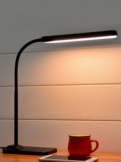 4W USB Touch Type LED Table Lamp - BLACK