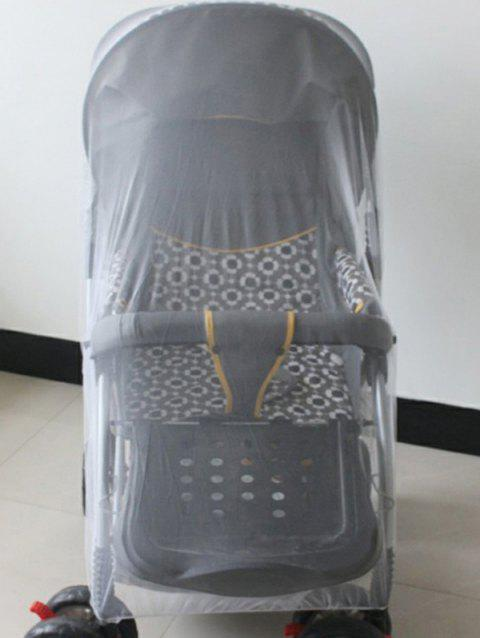 Universal Mosquito Net for Baby Stroller Pram Baby Carriage - WHITE