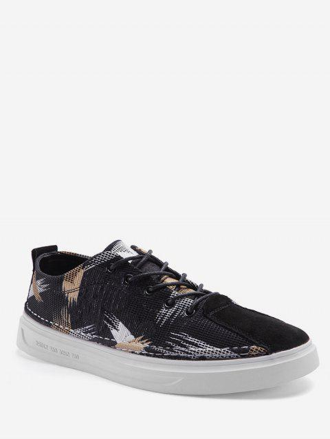 Couleur Spliced Design Casual Chaussures - Or EU 41