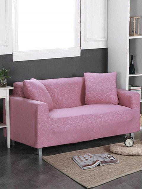 Dark Pattern Couch Cover - PINK ROSE TWO SEATS