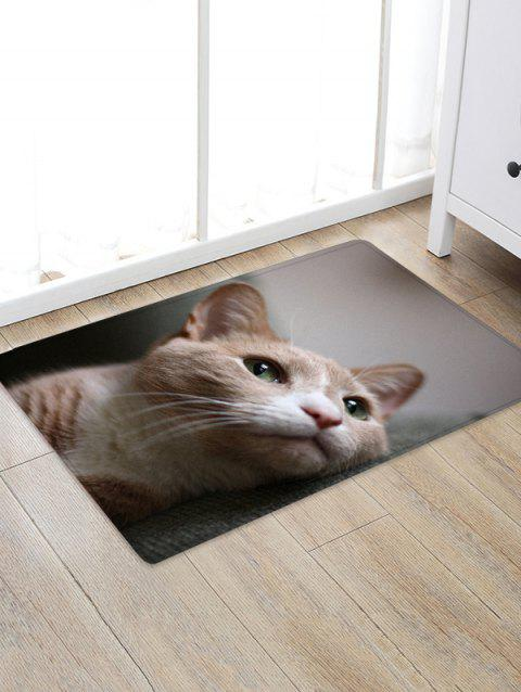 Cat Design Floor Mat - multicolor W16 X L24 INCH