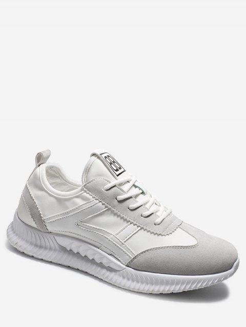 Lace-up Design Casual Athletic Shoes - GRAY EU 44