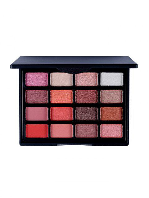 16 Color Makeup Eyeshadow Palette - multicolor B