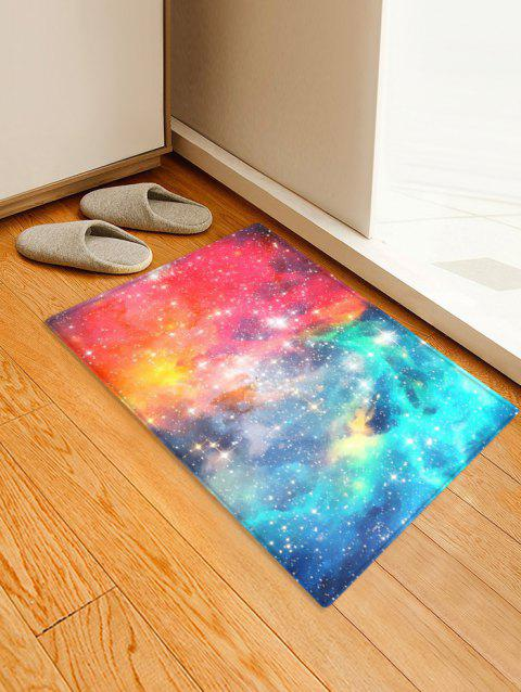 Starry Sky Printing Floor Mat - VALENTINE RED W16 X L24 INCH