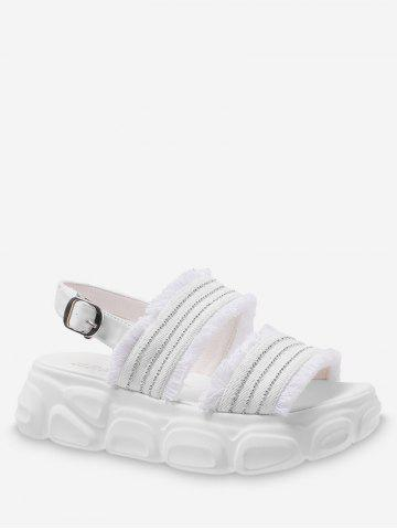 2c76dcb79 2019 White Sandals Flat Online Store. Best White Sandals Flat For ...