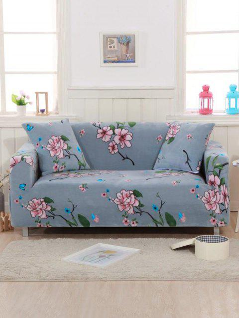 Flower Print Couch Cover