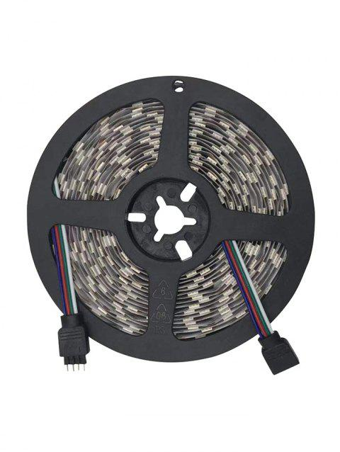 DC 12V 5 Meters Strip Light with Remote Control - WHITE
