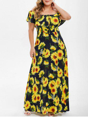 5a39d80559 2019 Floral Off Shoulder Maxi Dress Best Online For Sale