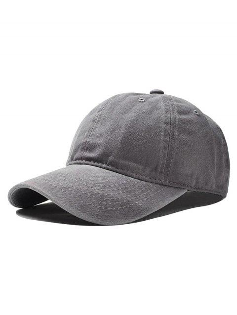 Adjustable Vintage Baseball Cap - GRAY