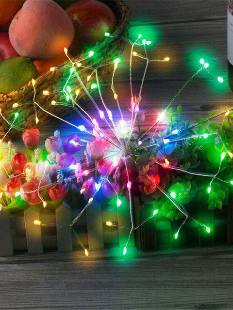 Télécommande 2 PCS 5V USB 8 fonctions 120 Light Fireworks Light - Blanc RGB