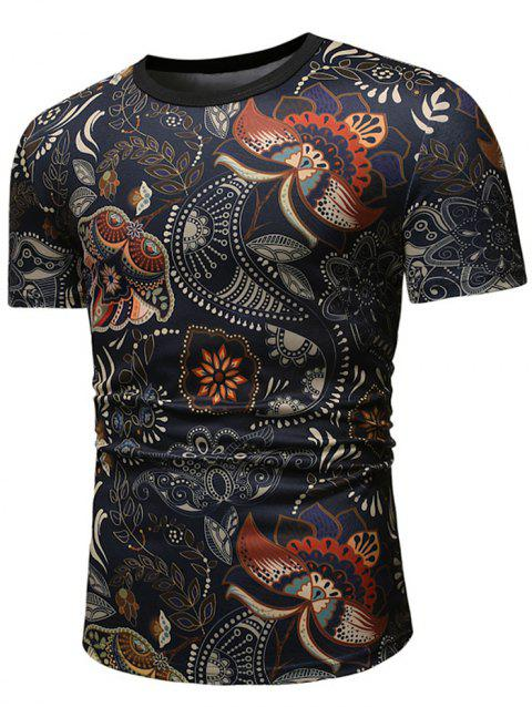 d457d8a0b 2019 Floral Print Men T Shirt Best Online For Sale | DressLily