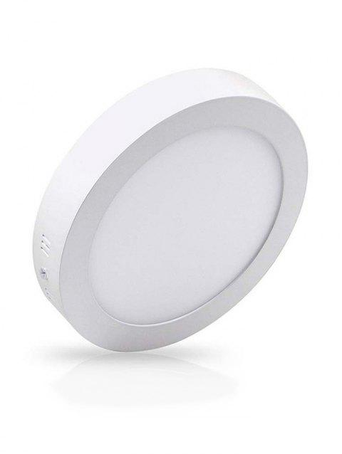 Round Surface Mounted Ceiling Panel Light - COOL WHITE 18W