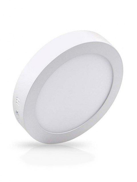 Round Surface Mounted Ceiling Panel Light - WARM WHITE 18W