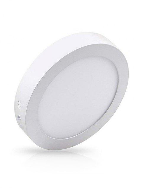 Round Surface Mounted Ceiling Panel Light - WARM WHITE 12 W