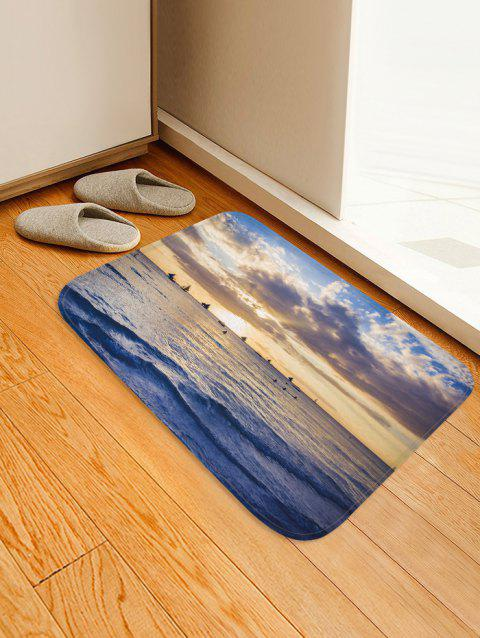 Sea Sailboat Sky - Tapis imprimé 3D - multicolor A W16 X L24 INCH
