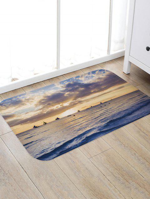 Sea Sailboat Sky - Tapis imprimé 3D - multicolor A W20 X L31.5 INCH