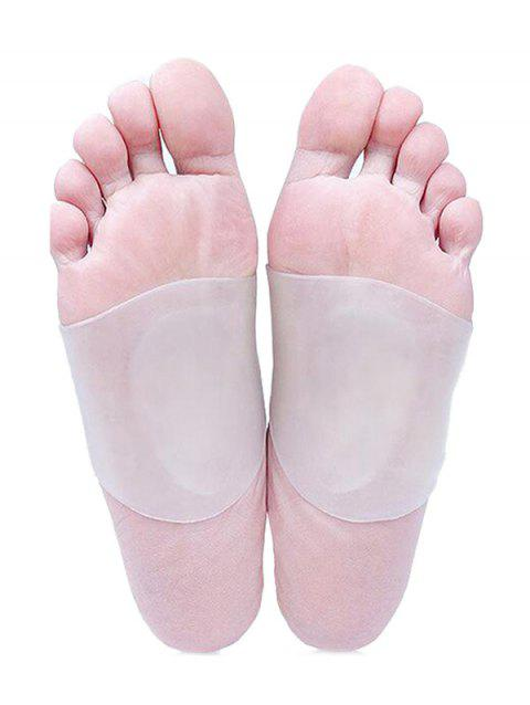 Transparent Arch Support Flat Feet Orthotic Pad Belt - WHITE