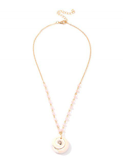 Collier Coquille Perle - Or
