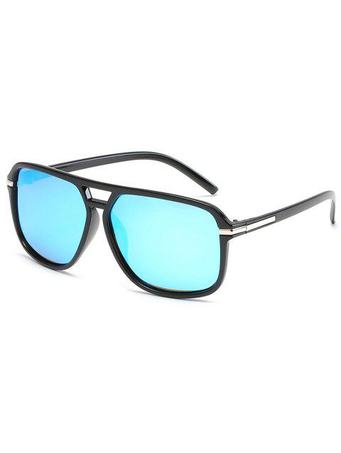 Vintage Polarized Anti-UV Sunglasses - CRYSTAL BLUE