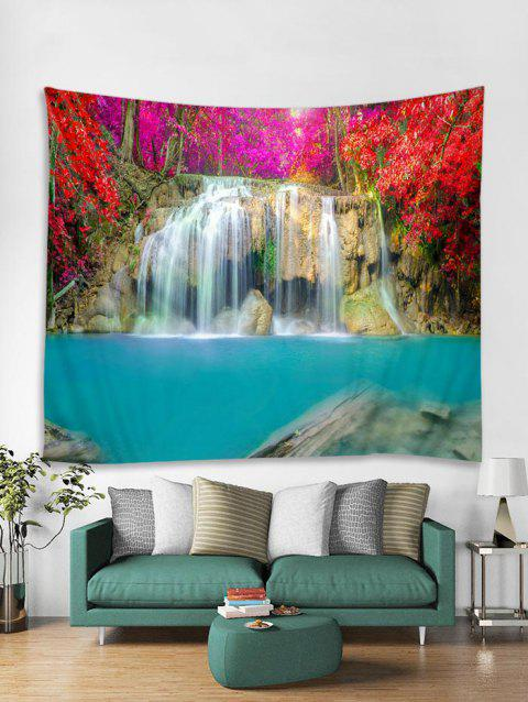 Waterfall Pattern Tapestry - multicolor C W59 X L51 INCH