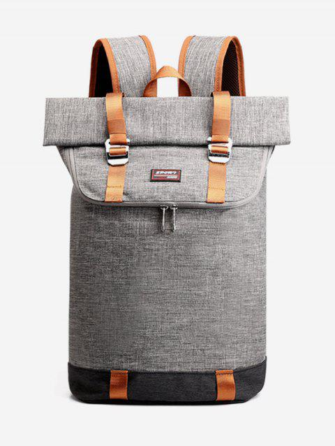 Casual Travel Computer Backpack - GRAY