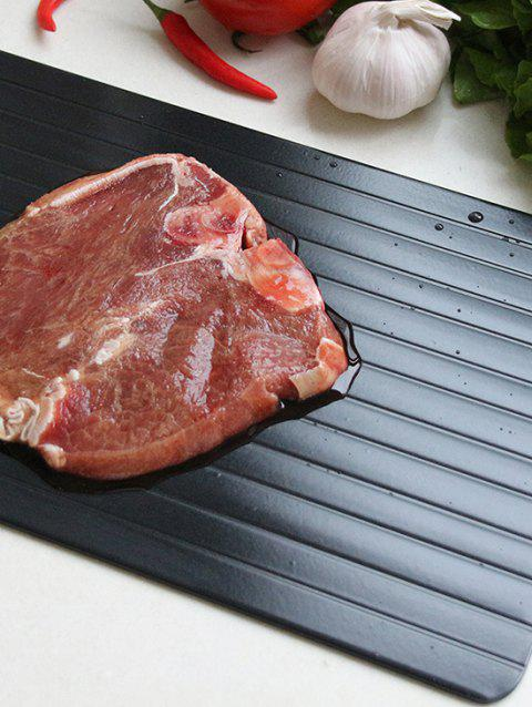 Thawing Plate Meat Defrosting Tray - BLACK 23*16.5CM