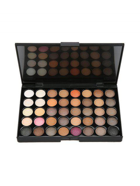 40 Colors Eye Shadow Makeup Tray - BLACK
