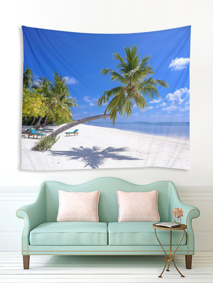 Seaside Scenery Tapestry Coconut Tree Art Wall Hanging Tapestry Home Wall Decor