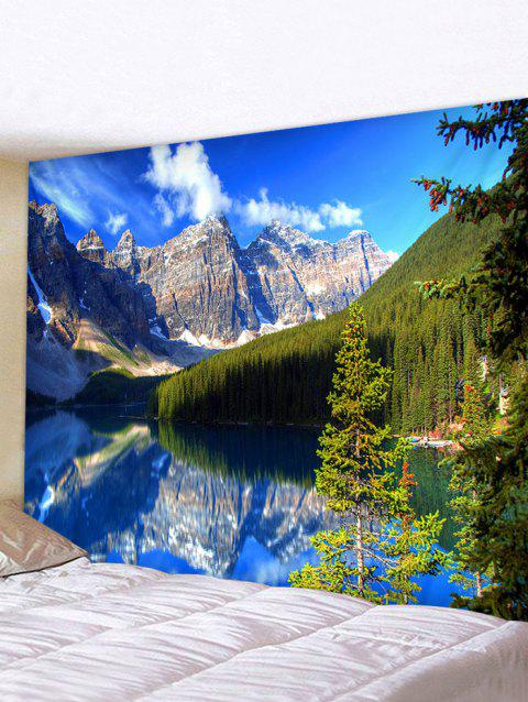3D Landscape Pattern Printed Tapestry - multicolor W79 X L59 INCH