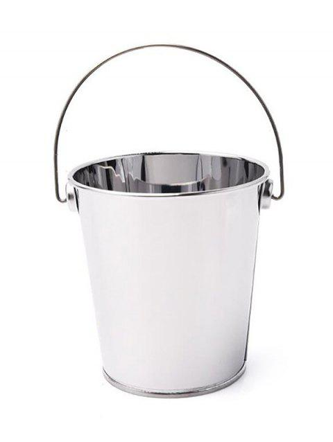 Stainless Steel French Fries Mini Bucket - SILVER