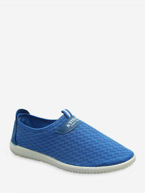Breathable Woven Mesh Running Shoes - DODGER BLUE EU 42
