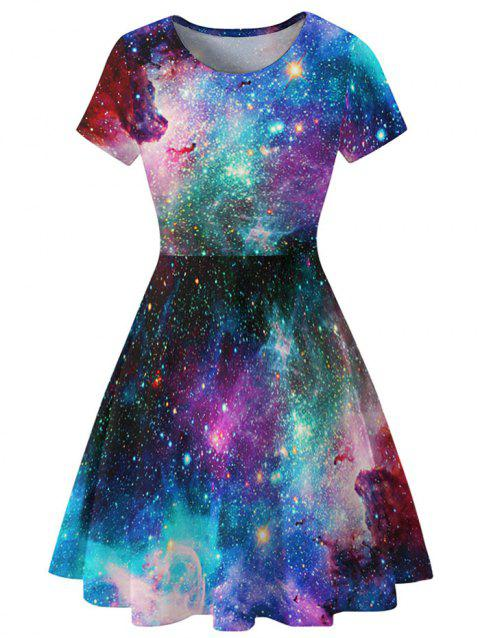 Robe à manches courtes Galaxy A Line - multicolor B XL