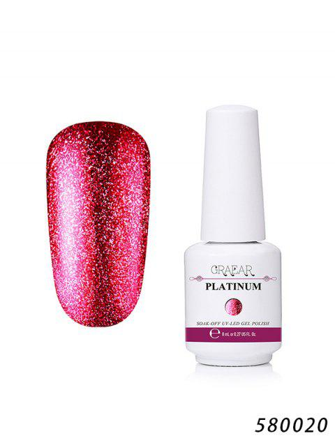 8ML Cosmetic Platinum Gel Nail Polish - 020